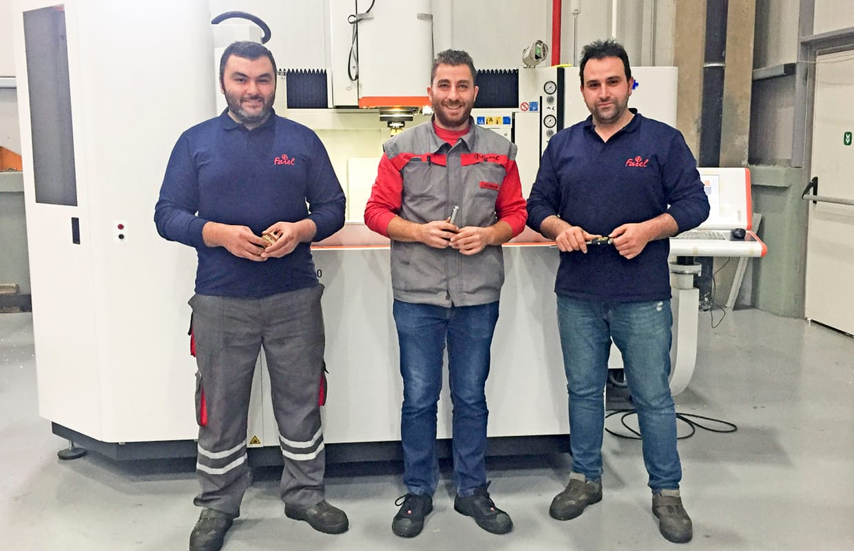 Serkan Toprak on toolmaking mission in Turkey
