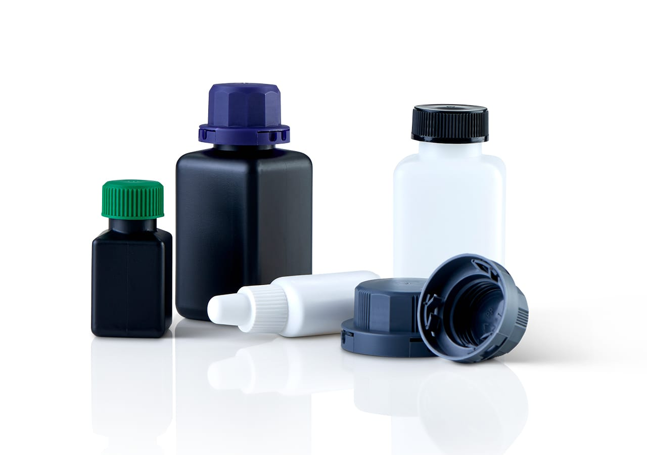 Pharmaceuticals injection molding packaging material