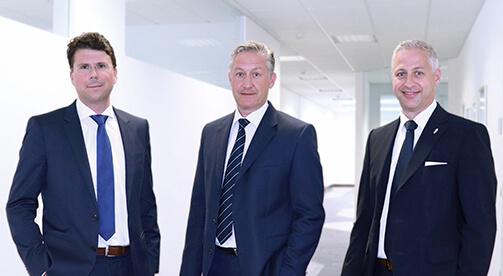 Marcus Wirthwein, Frank Wirthwein and Rainer Zepke